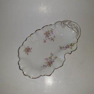 Vintage Scalloped Trinket Dish